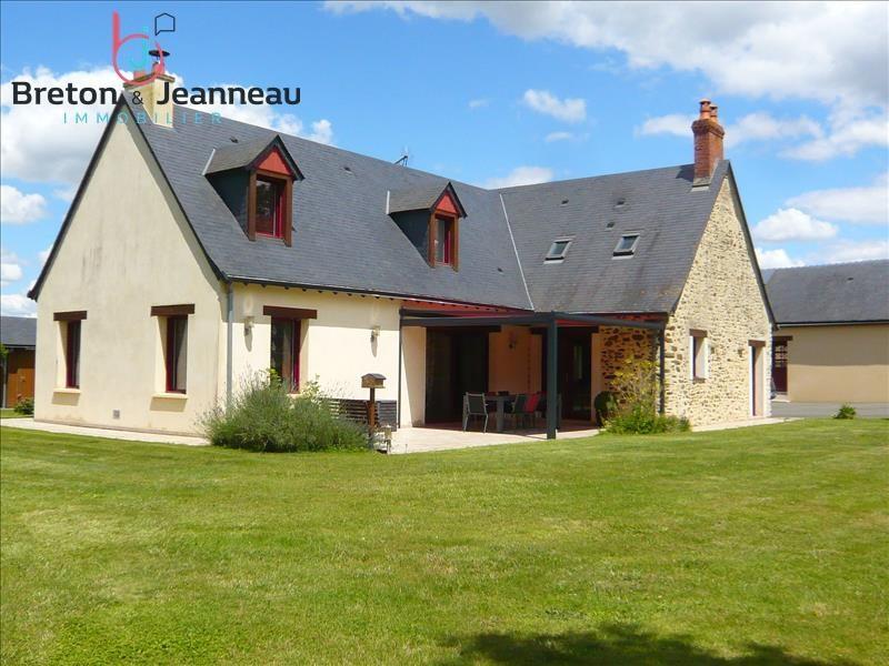 Sale house / villa Quelaines st gault 374400€ - Picture 1