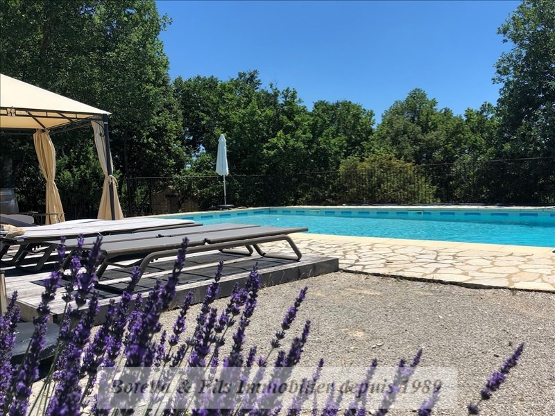 Vente de prestige maison / villa Goudargues 649 000€ - Photo 3