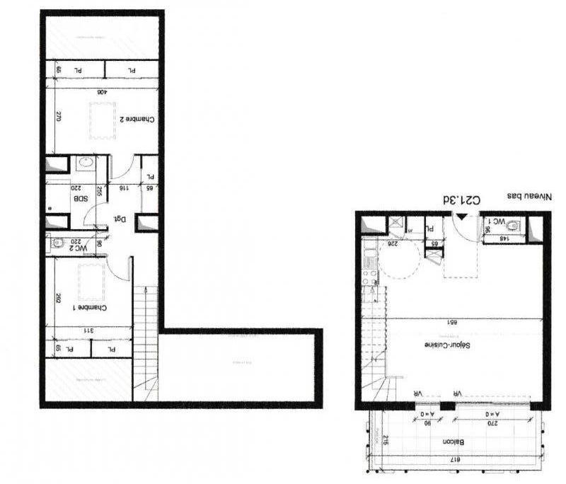Vendita appartamento Bonneville 189000€ - Fotografia 3