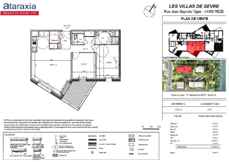 Location appartement Reze 715€ CC - Photo 2