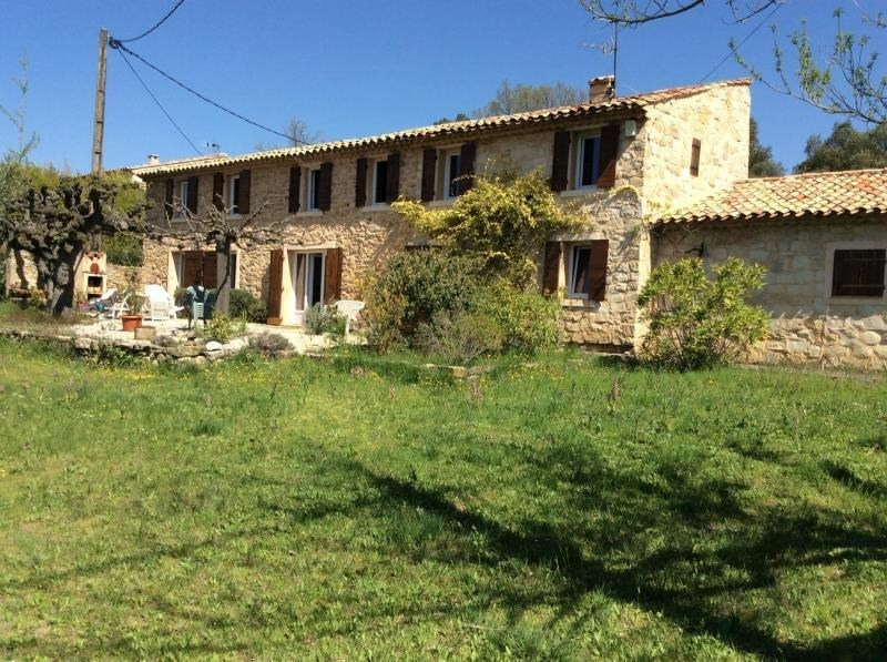 Vente maison / villa Pourrieres 530000€ - Photo 1