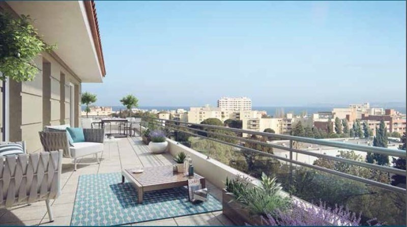 Deluxe sale apartment Le lavandou 292 000€ - Picture 1
