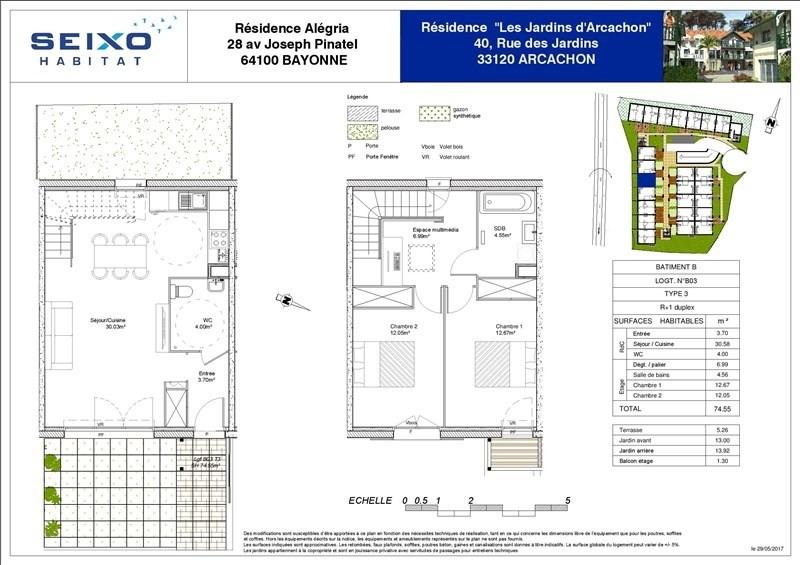 Venta  casa Arcachon 293000€ - Fotografía 3