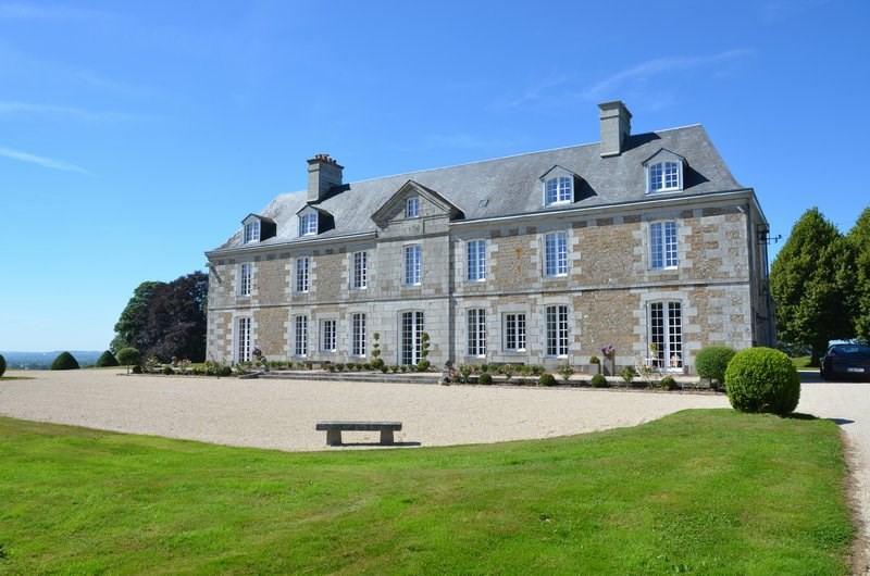 Verkauf von luxusobjekt schloss Villedieu les poeles 1950000€ - Fotografie 1