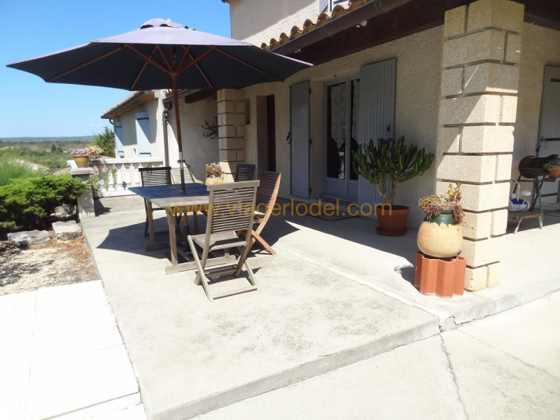 Life annuity house / villa Theziers 70000€ - Picture 7