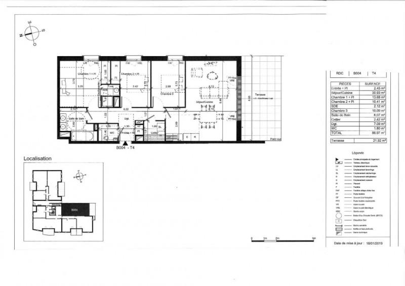 Venta  apartamento Angers 326000€ - Fotografía 5