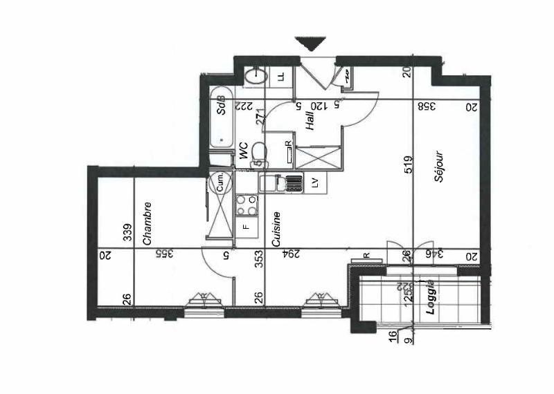 Location appartement Villefranche sur saone 557€ CC - Photo 9