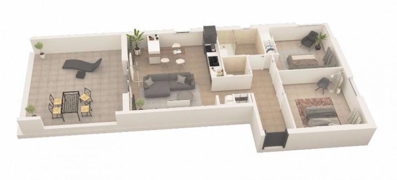 Sale apartment Porticcio (pietrosella) 295000€ - Picture 2