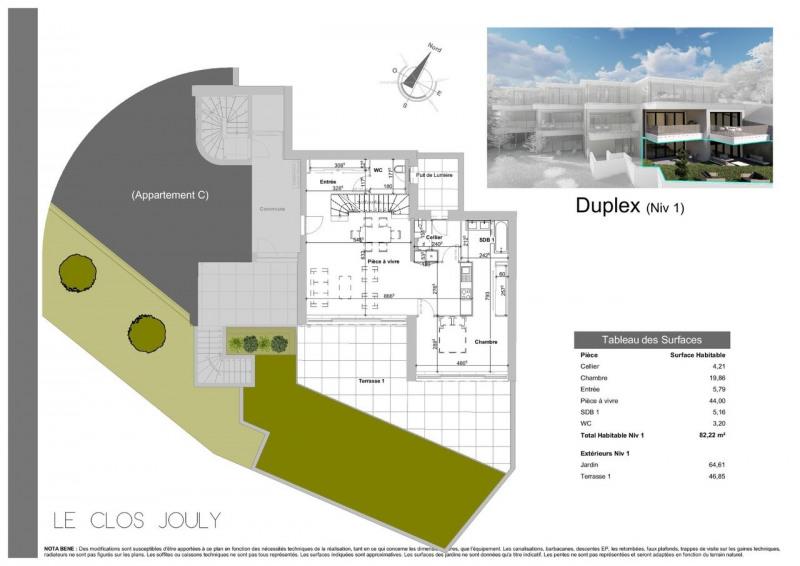 Vente de prestige appartement Annecy-le-vieux 1390000€ - Photo 3
