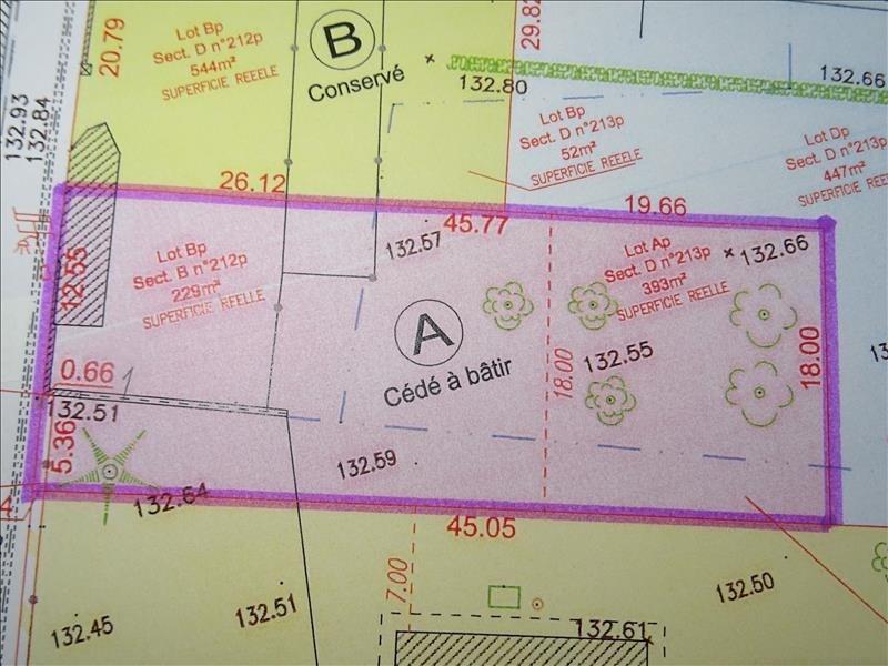 Vendita terreno Longnes 92000€ - Fotografia 3