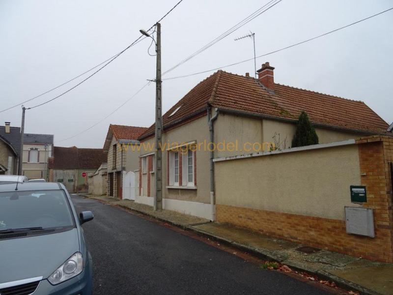 Verkauf auf rentenbasis haus Conflans-sur-seine 30200€ - Fotografie 3