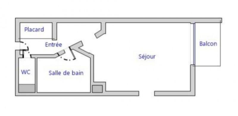 Vente appartement Le cap d'agde 43000€ - Photo 2