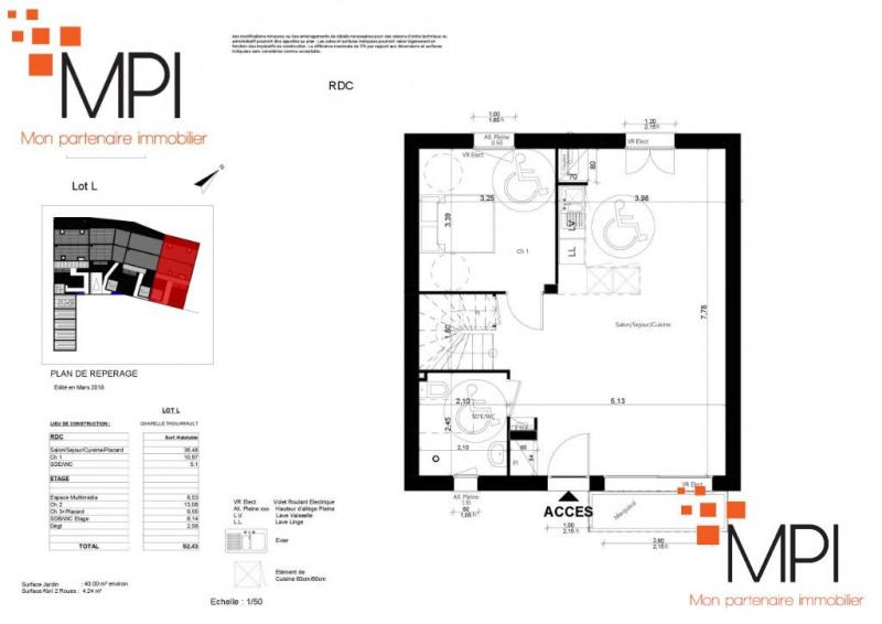 Sale house / villa La chapelle thouarault 175000€ - Picture 2