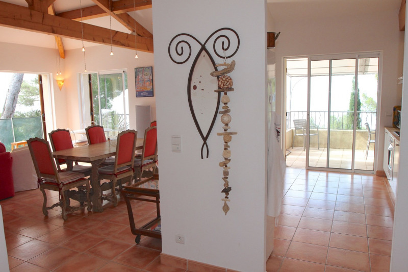 Vacation rental house / villa Cavalaire sur mer 1 500€ - Picture 13