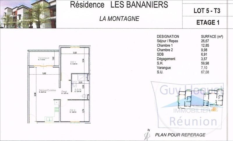 Vente appartement La montagne 196585€ - Photo 1