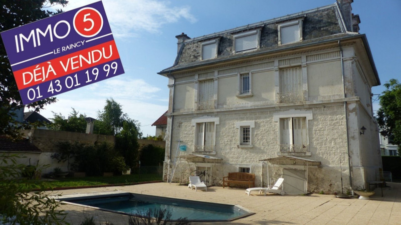 Sale house / villa Villemomble 994 000€ - Picture 1