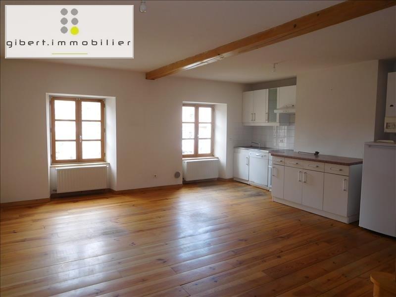 Rental apartment St paulien 471,79€ CC - Picture 3