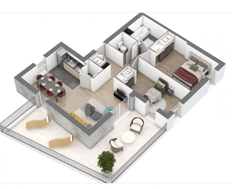 Sale apartment Saint nazaire 218000€ - Picture 5