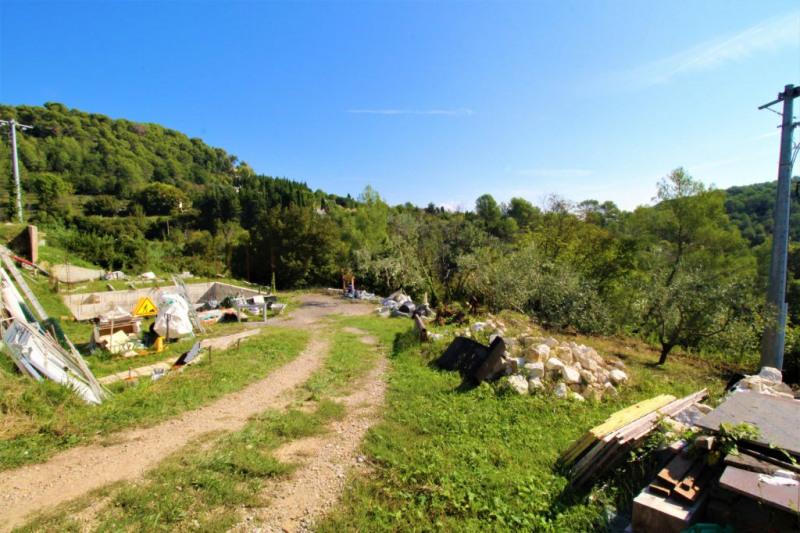 Vente terrain La colle sur loup 370000€ - Photo 1
