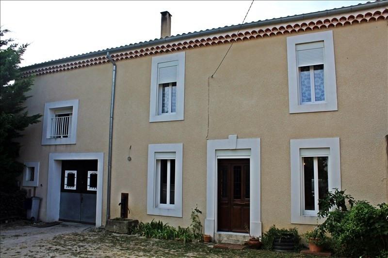 Vente maison / villa Nissan lez enserune 469000€ - Photo 1