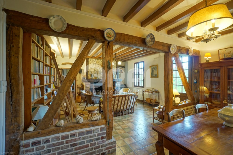 Vente maison / villa Lyons la foret 189000€ - Photo 3