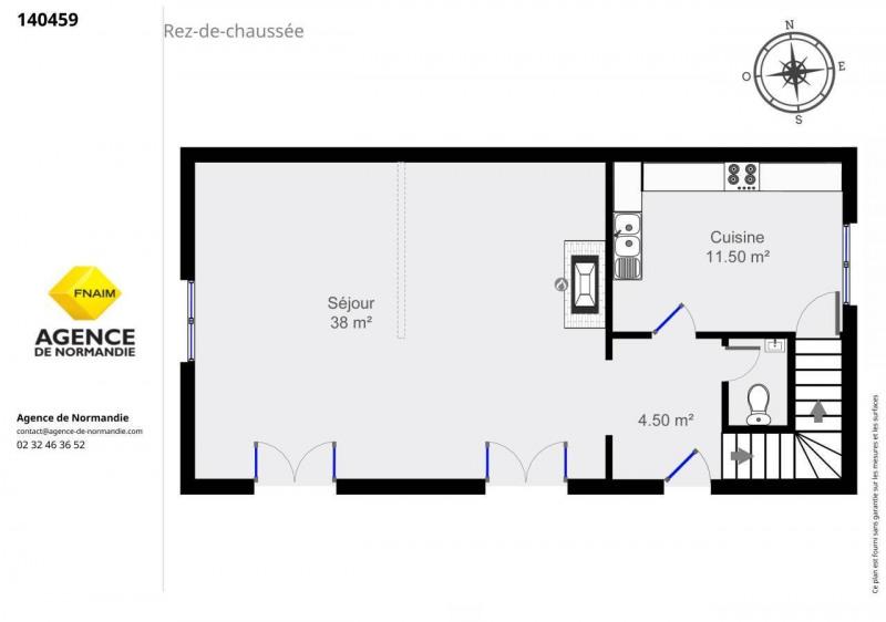 Vente maison / villa Montreuil-l'argille 130000€ - Photo 6