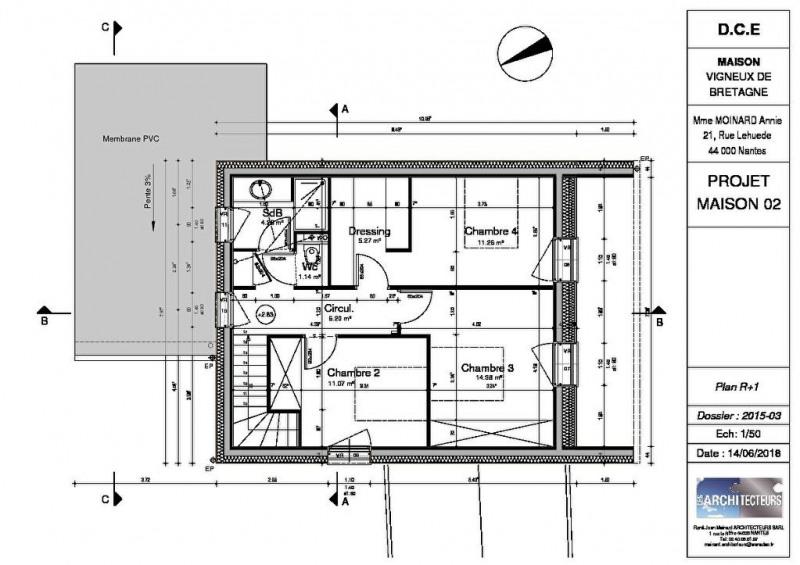 Vente maison / villa Vigneux de bretagne 369900€ - Photo 4