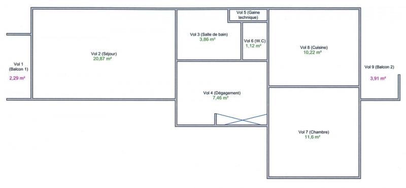 Venta  apartamento Villeurbanne 178800€ - Fotografía 4