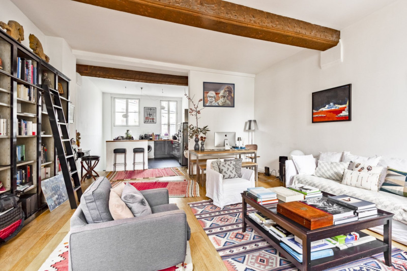 Vente de prestige appartement Paris 2ème 1 300 000€ - Photo 5