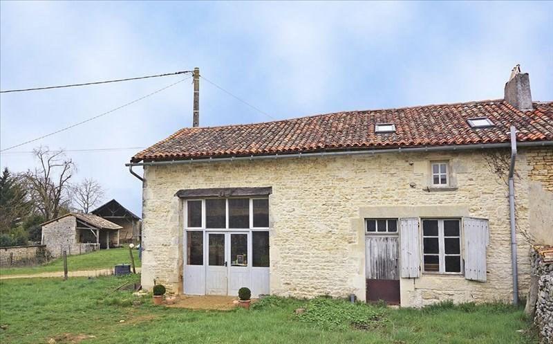 Vente maison / villa Civray 60000€ - Photo 1