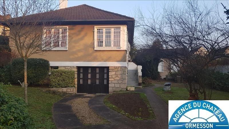 Produit d'investissement maison / villa Ormesson sur marne 512000€ - Photo 1