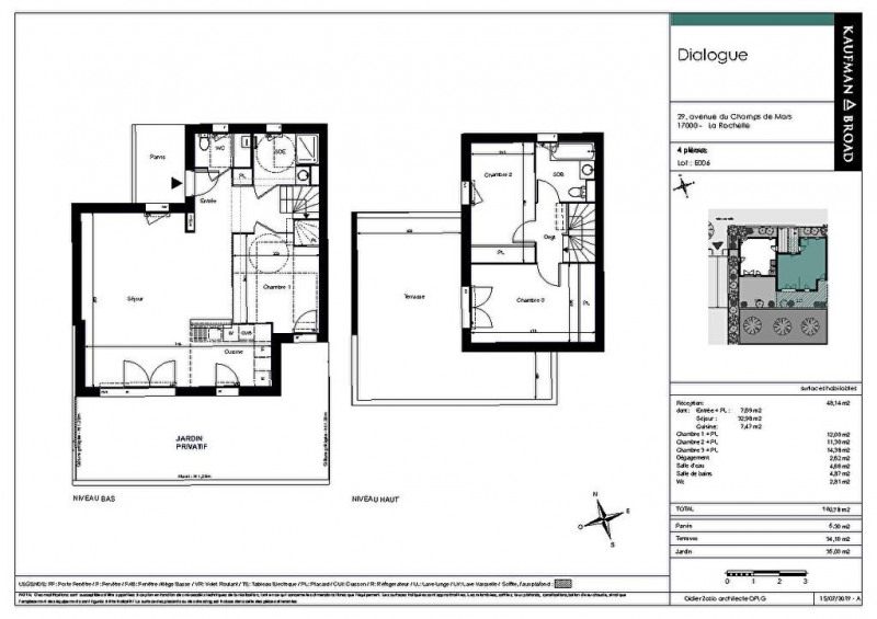 Produit d'investissement maison / villa La rochelle 528000€ - Photo 2