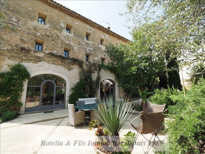 Deluxe sale house / villa Uzes 737000€ - Picture 1