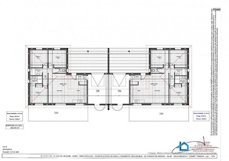Sale house / villa Vieux boucau les bains 345000€ - Picture 3