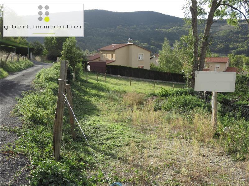Vente terrain Coubon 39600€ - Photo 3