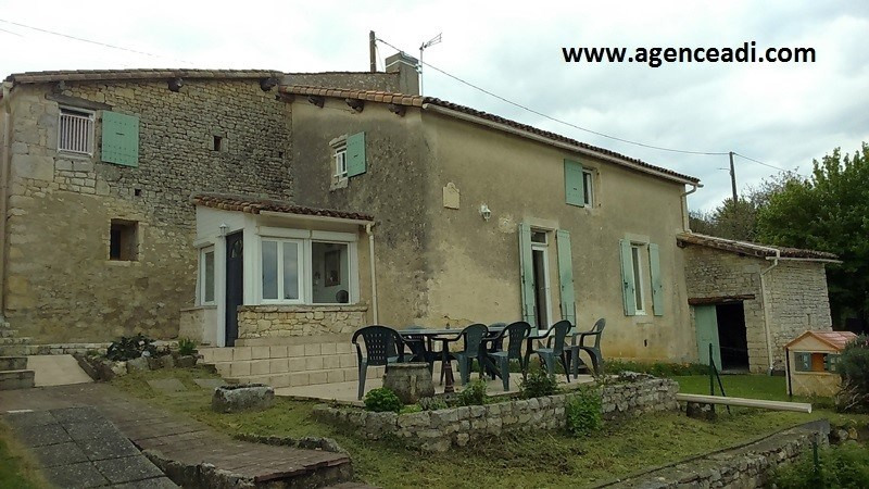 Vente maison / villa Pamproux 156 000€ - Photo 1