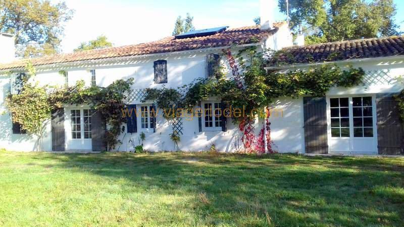 Life annuity house / villa Gaillan-en-médoc 130000€ - Picture 1