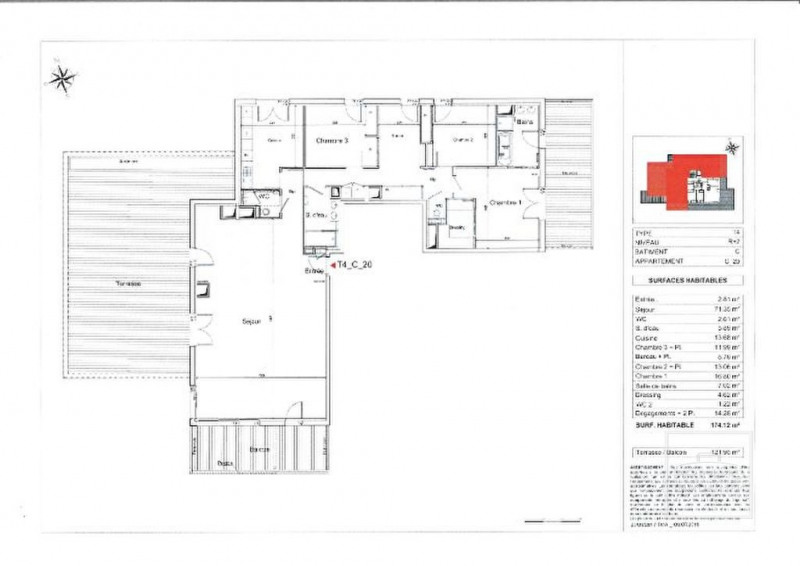 Deluxe sale apartment Dardilly 870000€ - Picture 12