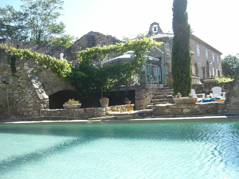 Vente de prestige maison / villa Goudargues 630 000€ - Photo 2