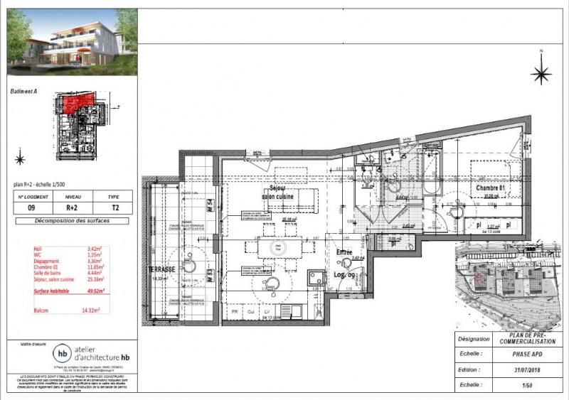 Sale apartment L isle d abeau 144100€ - Picture 3