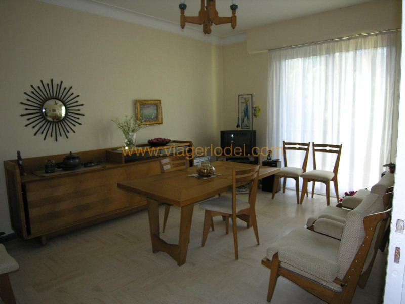 Life annuity apartment Nice 80 000€ - Picture 1