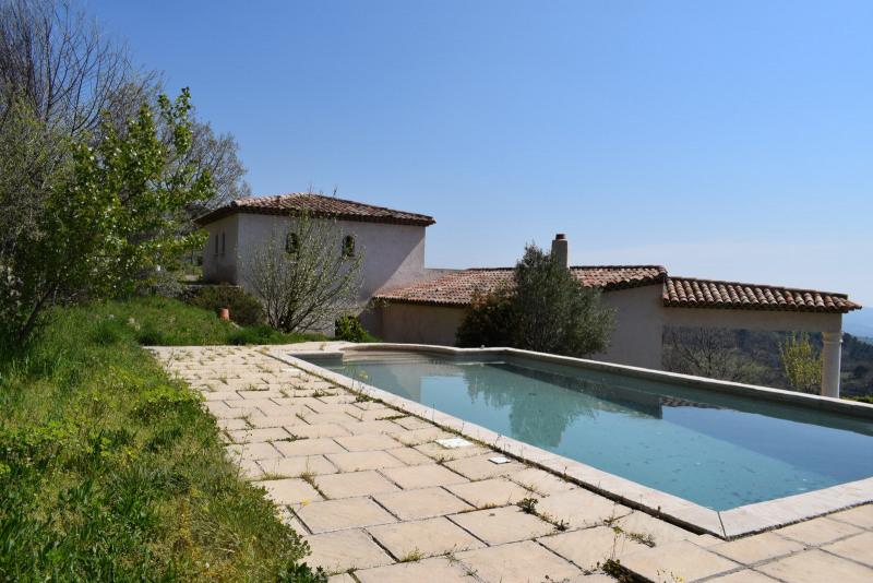 Revenda residencial de prestígio casa Seillans 580000€ - Fotografia 1