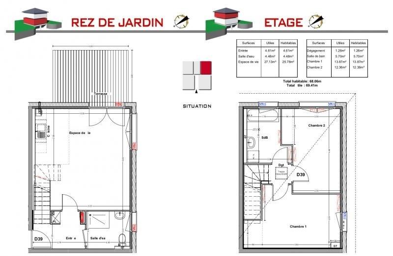 Vente maison / villa Jons 230000€ - Photo 5