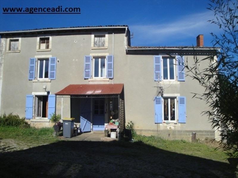 Vente maison / villa La creche, cote niort 136000€ - Photo 1