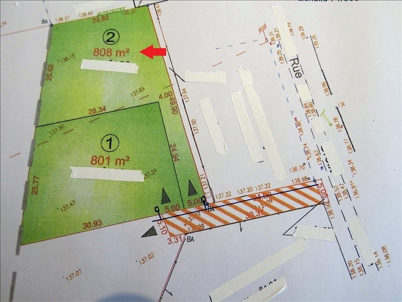 Sale site Guainville 92 000€ - Picture 2