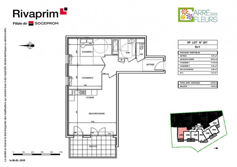 Vente appartement Nice 272000€ - Photo 2