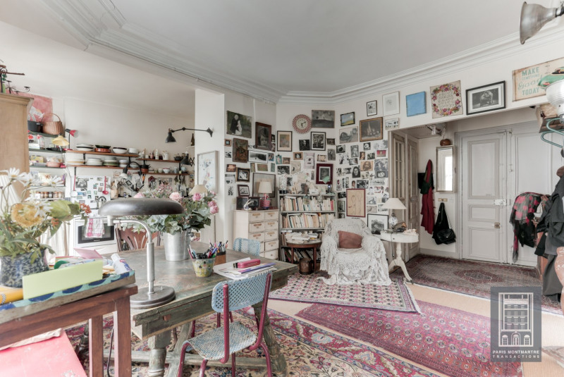 Deluxe sale apartment Paris 18ème 1260000€ - Picture 14