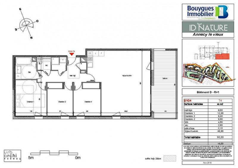 Deluxe sale apartment Annecy le vieux 565000€ - Picture 2