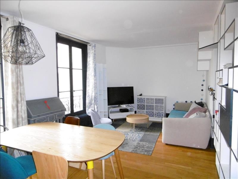 Rental apartment Levallois 1620€ CC - Picture 2