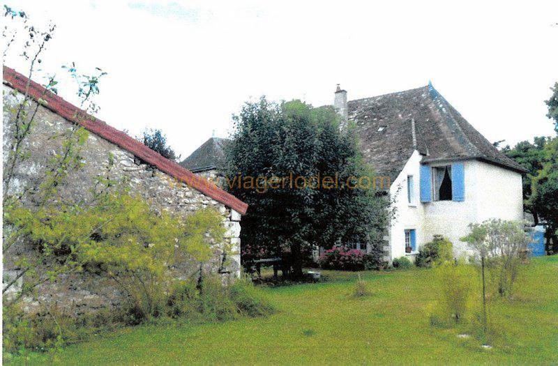 Vendita nell' vitalizio di vita casa Leigné-les-bois 65000€ - Fotografia 3
